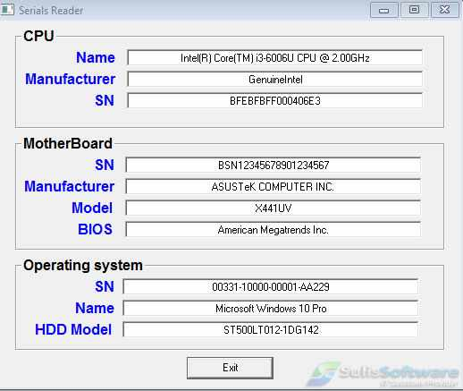 Menampilkan Info Motherboard, CPU, Windows & HDD dengan VB6